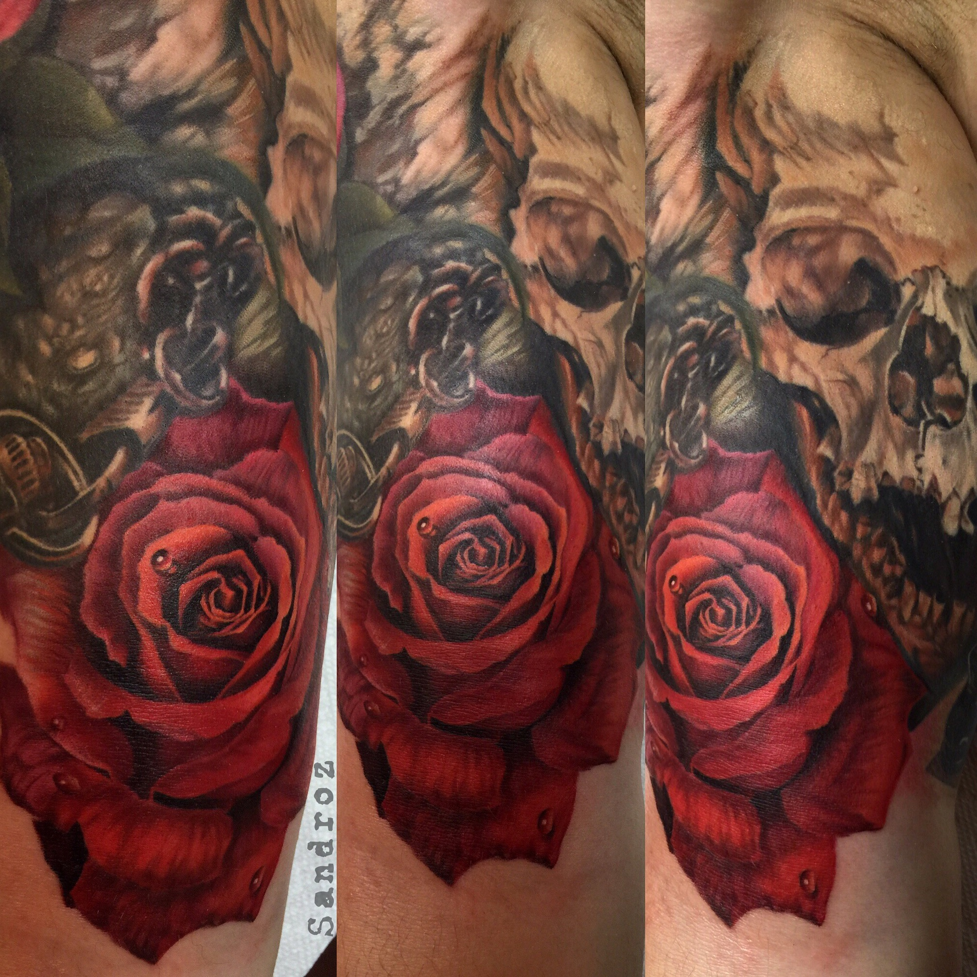 Sandroz   Magik 5 Tattoo Artist Profile